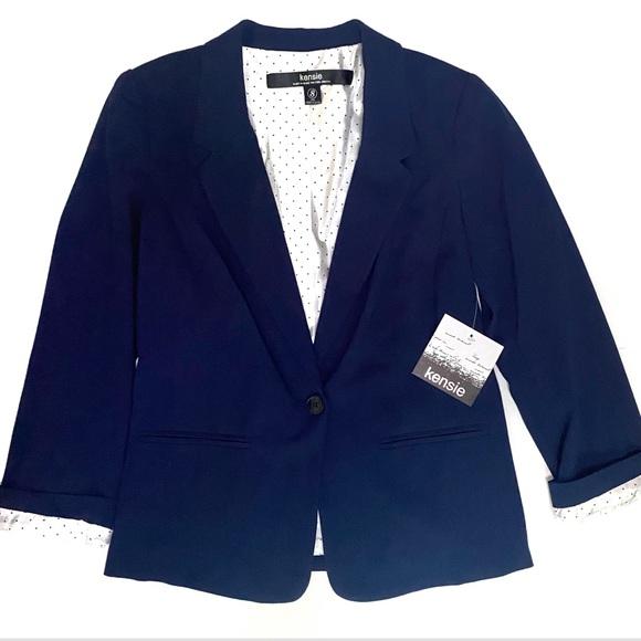 Kenzie • navy blue blazer